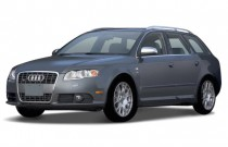 2007 Audi S4 2007 5dr Avant Wagon Auto Angular Front Exterior View