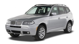 2007 BMW X3-Series AWD 4-door 3.0si Angular Front Exterior View