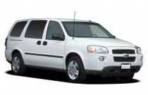 2007 Chevrolet Uplander 4-door Ext WB LS Angular Front Exterior View