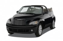 2007 Chrysler PT Cruiser 2-door Convertible GT Angular Front Exterior View