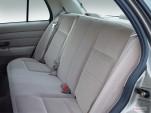 2007 Ford Crown Victoria 4-door Sedan Standard Rear Seats