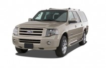 2007 Ford Expedition EL 2WD 4-door Limited Angular Front Exterior View