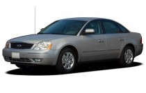2007 Ford Five Hundred 4-door Sedan SEL FWD Angular Front Exterior View