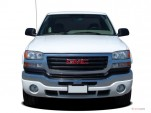 "2007 GMC Sierra 2500HD 2WD Ext Cab 143.5"" SLE1 Front Exterior View"