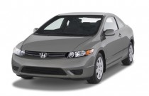 2007 Honda Civic Coupe 2-door AT LX Angular Front Exterior View