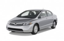 2007 Honda Civic Hybrid 4-door Sedan Angular Front Exterior View