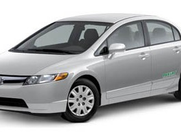 2007 Honda Civic Sdn GX