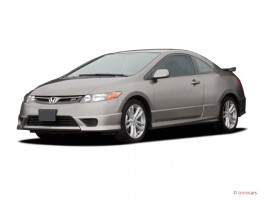 2007 Honda Civic Si 2-door Coupe Manual w/ST Angular Front Exterior View