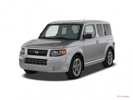 2007 Honda Element 2WD 4-door AT SC Angular Front Exterior View