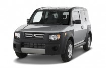 2007 Honda Element 2WD 4-door AT LX Angular Front Exterior View