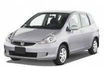 2007 Honda Fit 5dr HB AT Angular Front Exterior View