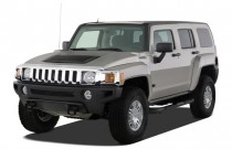 2007 HUMMER H3 4WD 4-door SUV Angular Front Exterior View