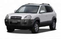 2007 Hyundai Tucson FWD 4-door Manual GLS Angular Front Exterior View
