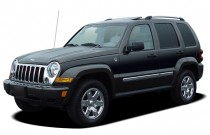 2007 Jeep Liberty 4WD 4-door Limited Angular Front Exterior View