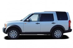 2007 Land Rover LR3 4WD 4-door V8 SE Side Exterior View
