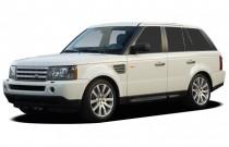 2007 Land Rover Range Rover Sport 4WD 4-door SC Angular Front Exterior View