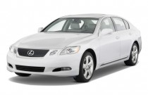 2008 Lexus GS 350 4-door Sedan RWD Angular Front Exterior View
