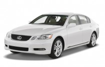 2007 Lexus GS 450h 4-door Hybrid Sedan Angular Front Exterior View