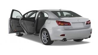 2007 Lexus IS 250 4-door Sport Sedan Auto RWD Open Doors