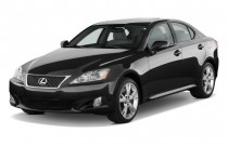 2009 Lexus IS 350 4-door Sport Sedan Auto Angular Front Exterior View