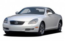 2007 Lexus SC 430 2-door Convertible Angular Front Exterior View