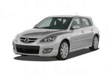2007 Mazda MAZDA3 5dr HB Manual MAZDASPEED3 GT Angular Front Exterior View