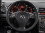 2007 Mazda MAZDA3 5dr HB Manual MAZDASPEED3 GT Steering Wheel