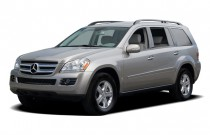 2007 Mercedes-Benz GL Class 4WD 4-door 4.7L Angular Front Exterior View