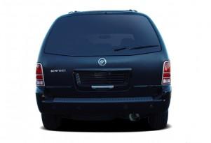 2007 Mercury Monterey 4-door Luxury *Ltd Avail* Rear Exterior View