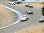 Jaguar E-Types at the Corkscrew, 2011 Rolex Monterey Motorsports Reunion