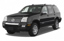 2007 Mercury Mountaineer 2WD 4-door V8 Premier Angular Front Exterior View