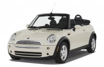 2007 MINI Cooper Convertible 2-door Angular Front Exterior View