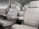 2007 Nissan Quest 4-door SE Rear Seats