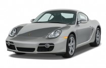 2007 Porsche Cayman 2-door Coupe Angular Front Exterior View