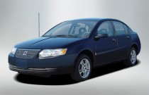 2007 Saturn Ion 4-door Sedan Manual ION 2 Angular Front Exterior View