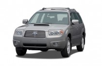 2007 Subaru Forester AWD 4-door H4 Turbo AT XT Ltd Angular Front Exterior View