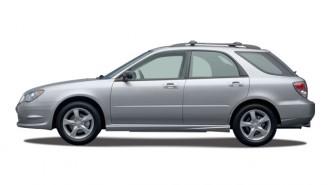 2007 Subaru Impreza 4-door H4 MT i Side Exterior View