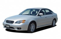 2007 Subaru Legacy Sedan 4-door H4 AT Angular Front Exterior View