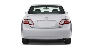 2007 Toyota Camry Hybrid 4-door Sedan (Natl) Rear Exterior View