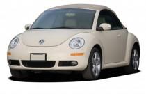 2007 Volkswagen New Beetle Convertible 2-door Auto Angular Front Exterior View