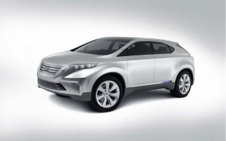 2007 Lexus LF-Xh Hybrid Concept