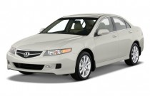 2008 Acura TSX 4-door Sedan Auto Angular Front Exterior View