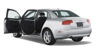2008 Audi A4 4-door Sedan CVT 2.0T FrontTrak Open Doors