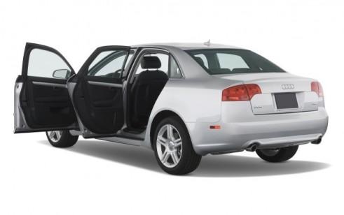 2008 Audi A4 4-door Sedan CVT 2.0T FrontTrak Open Doors