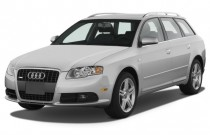 2008 Audi A4 5dr Wagon Auto 2.0T quattro Angular Front Exterior View