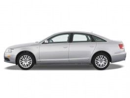 2008 Audi A6 4-door Sedan 4.2L quattro *Ltd Avail* Side Exterior View