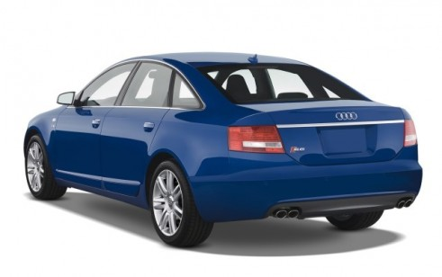 2008 Audi S6 4-door Sedan Angular Rear Exterior View