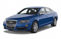 2008 Audi S6 4-door Sedan Angular Front Exterior View