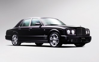Bentley Arnage Waves Good-bye with Final Edition