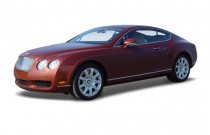 2008 Bentley Continental GT 2-door Coupe Angular Front Exterior View